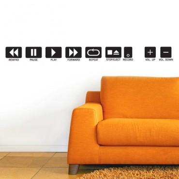 Kit de Stickers Play & Rec