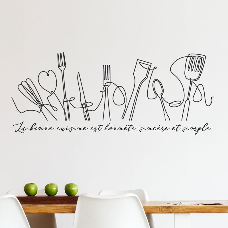 ... Stickers Frise La Bonne Cuisine Stickers Cuisine Gali Art
