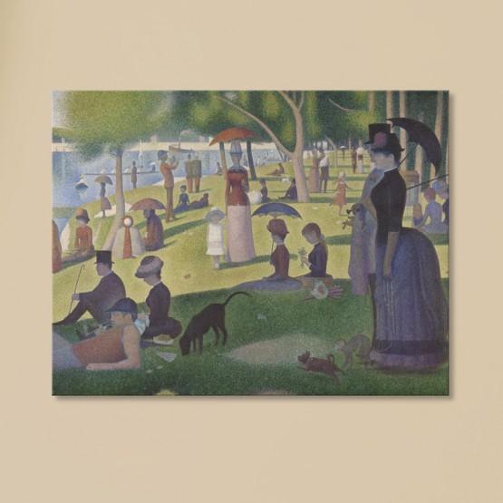Un dimanche après midi à l'île de la Grande Jatte de Georges Seurat Tableaux de Maitre Gali Art