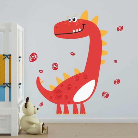 Stickers Petit Dinosaure Stickers Imprimés Gali Art