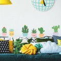 Stickers Cactus rigolos Stickers Chambres Enfants Gali Art