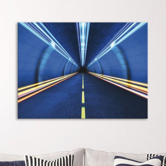 Tableau Tunnel Hypnotique Tableaux Urbain Gali Art