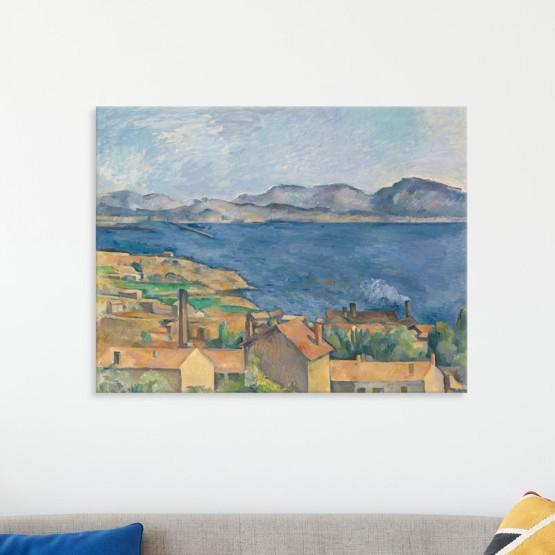 La Baie de Marseille de Paul Cézanne Tableaux de Maitre Gali Art