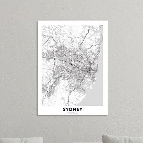 Tableau City Map Sydney Tableaux Urbain