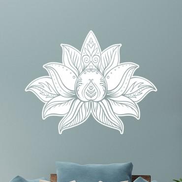Stickers Fleur de Lotus design