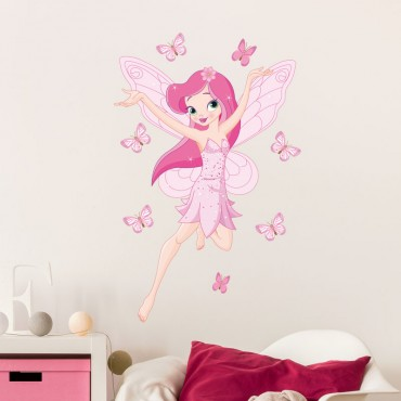 Sticker Fée des Papillons
