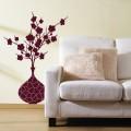 Sticker Orchidée en vase