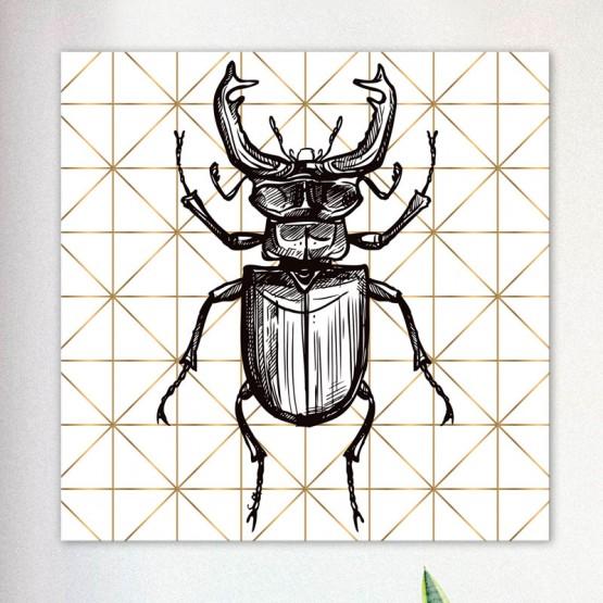 Tableau Lucane Graphique Tableaux Animaux Gali Art