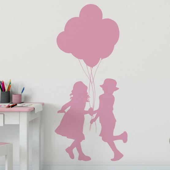 Stickers Enfants aux Ballons Stickers Chambres Enfants Gali Art