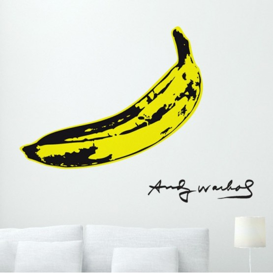 Sticker Banane POP ART Stickers Design Gali Art