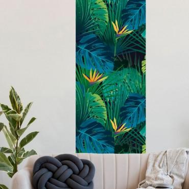 Décor imprimé vertical Paradis Tropical