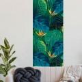 Décor imprimé vertical Paradis Tropical Lès Décoratif Gali Art