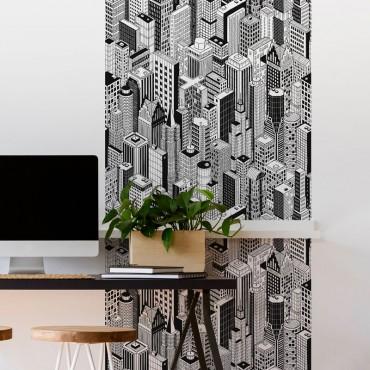 Décor imprimé vertical Building