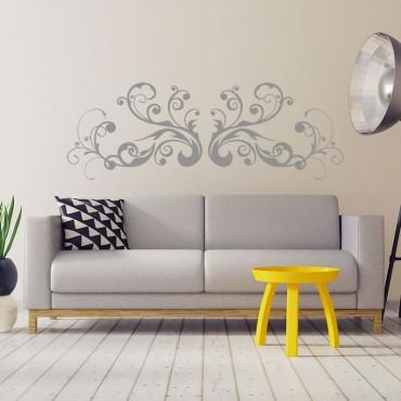 Sticker Arabesque Swirl