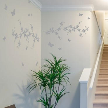 Stickers Branches avec Papillons
