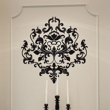 Sticker Motif Baroque Moderne
