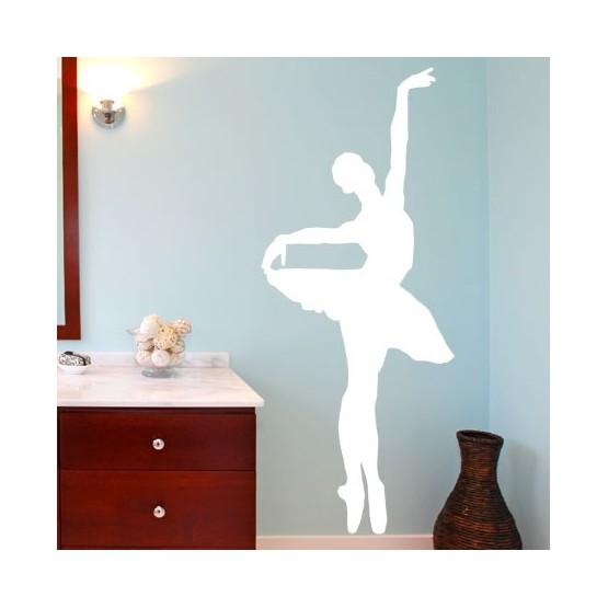 sticker danseuse classique d coration chambres de fille. Black Bedroom Furniture Sets. Home Design Ideas