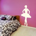 Sticker Danseuse en Tutu Stickers Silhouettes Gali Art