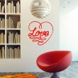 Sticker Coeur Love Stickers Amour