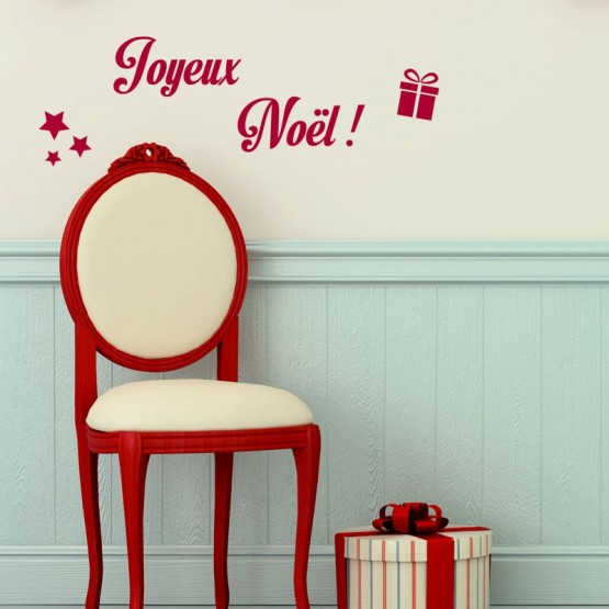 Kit de Décoration de Noël Stickers Festivités Gali Art