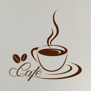 Sticker Tasse à Café