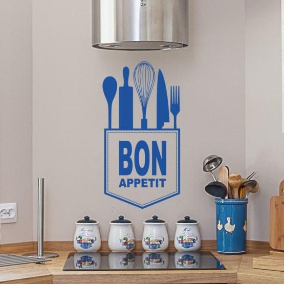 Sticker Bon Appétit Stickers Cuisine Gali Art
