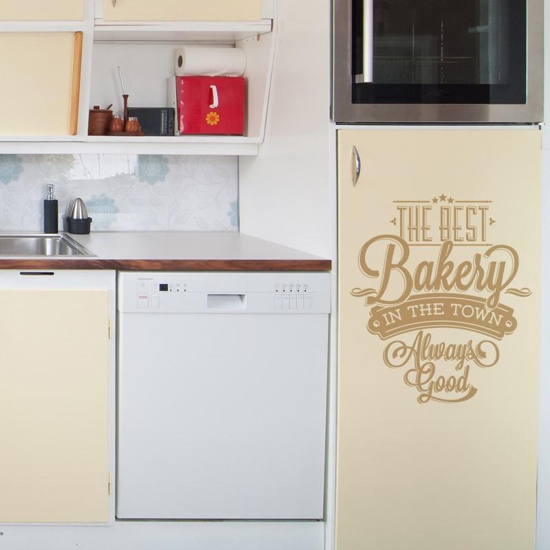 Stickers Muraux Sticker Texte The Best Bakery Decoration Murale