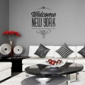 Sticker Welcome New York Stickers Texte et Citations Gali Art