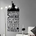 Sticker New York - 5th Avenue