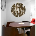 Sticker Cercle Design Couverts
