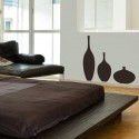 Kit de 3 Vases Ronds