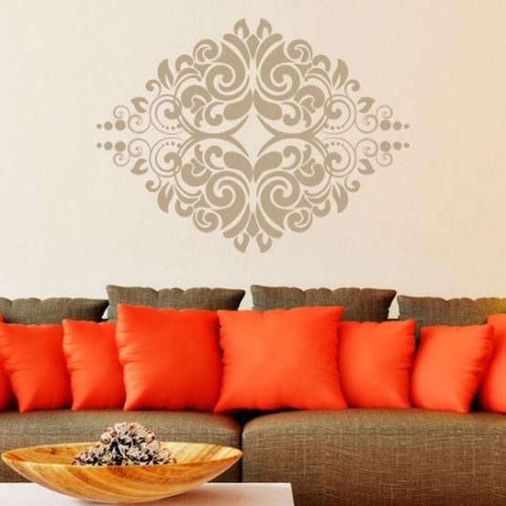decoration murale arabesque