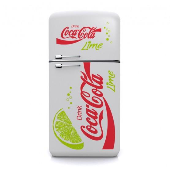 Sticker Coca-Cola Lime