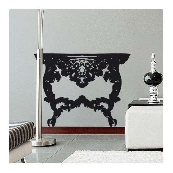 Sticker Console Baroque Stickers Baroque