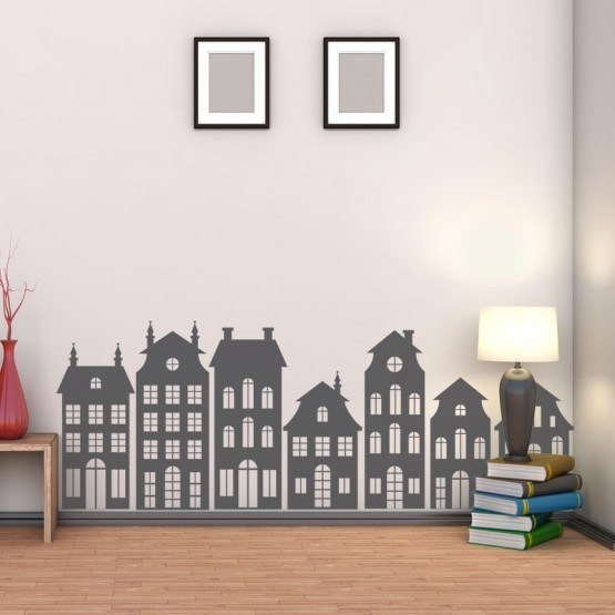 Sticker Frise Maisonnette Stickers Chambres Enfants Gali Art