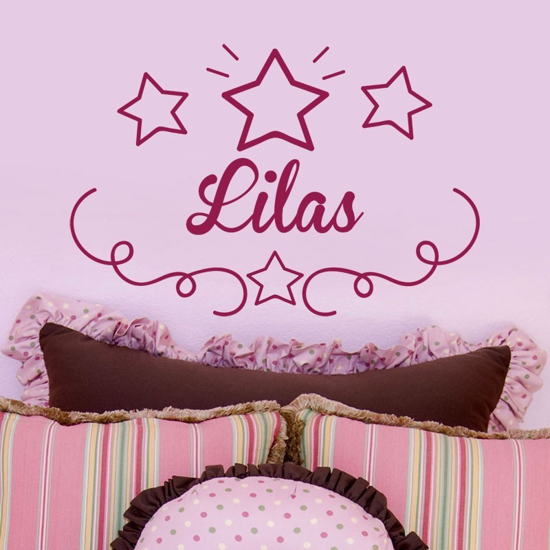 sticker pr nom avec d cor toiles d coration de porte chambre enfant. Black Bedroom Furniture Sets. Home Design Ideas
