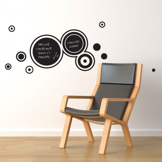 Sticker Ardoise Cercles