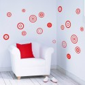 Kit de 20 Stickers Cercles POP