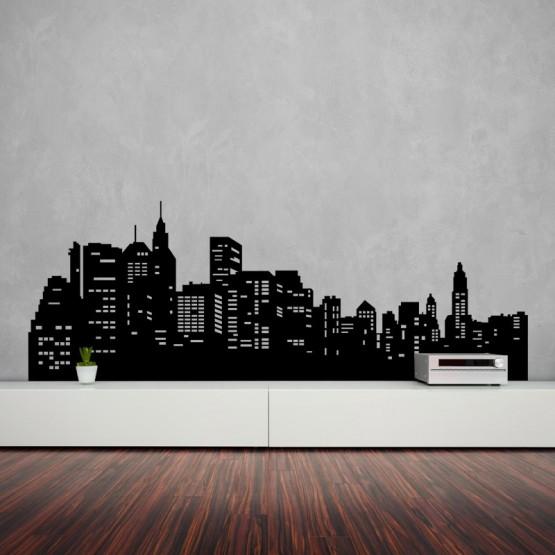 Sticker New York Panorama Stickers Design