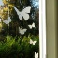 Kit de Stickers Dépoli Givré Envol de Papillons