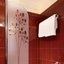 Sticker dépoli douche Pissenlit Design