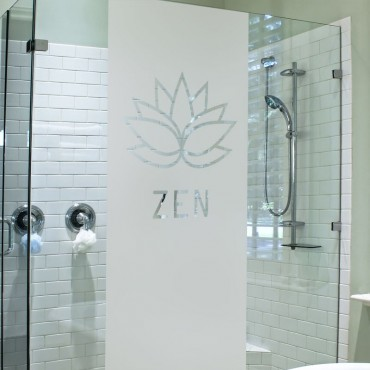 Sticker Douche Lotus Zen