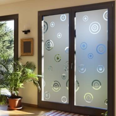 sticker occultant arabesque coeur film d poli pour. Black Bedroom Furniture Sets. Home Design Ideas