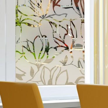 Sticker Occultant Fleurs Design