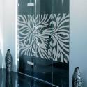 Sticker Dépoli Fleur Zebre