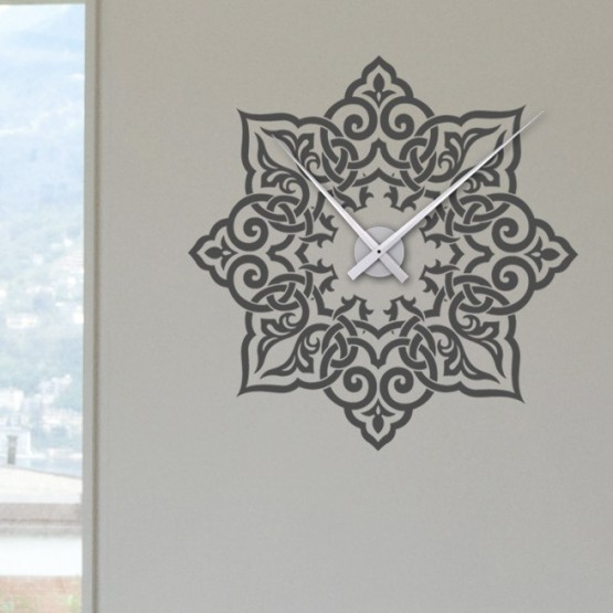 Sticker Horloge avec Arabesque Stickers Horloge Gali Art