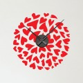Horloge Sticker Coeur Stickers Horloge Gali Art