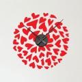 Horloge Sticker Coeur