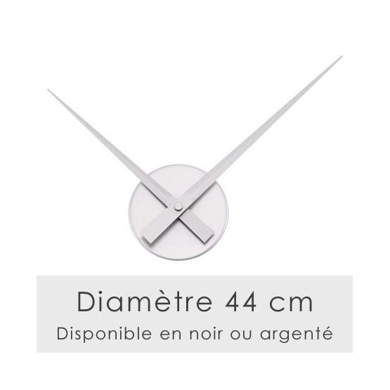 Horloge murale diamètre 44 cm Stickers Horloge