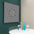 Tableau Fleur Illusion Tableaux Abstrait Gali Art